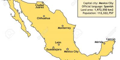 country map of mexico country mexico map central america americas