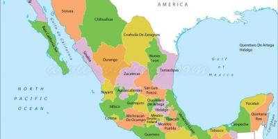 Mexico United Mexican States map Maps Mexico United Mexican