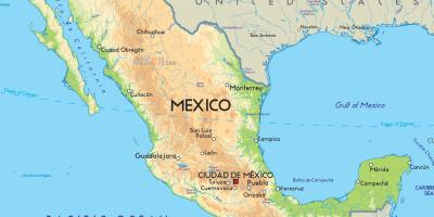 Mexico - United Mexican States map - Maps Mexico - United Mexican ...